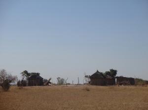 So oder ähnlich wohnt der grösste Teil der Namibier
